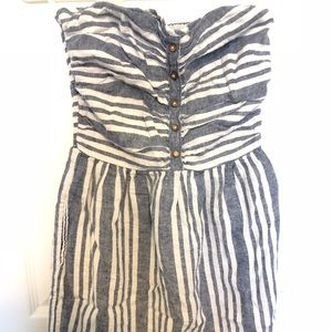 Stripped halter summer dress (GAP)